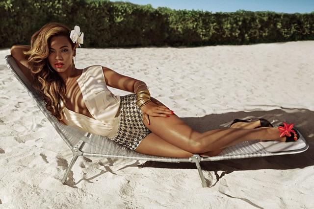 Бейонсе в рекламе H&M
