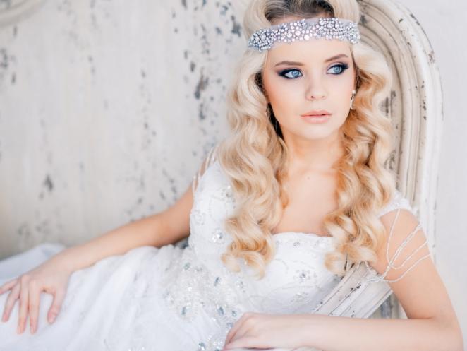 свадебные украшения для прически