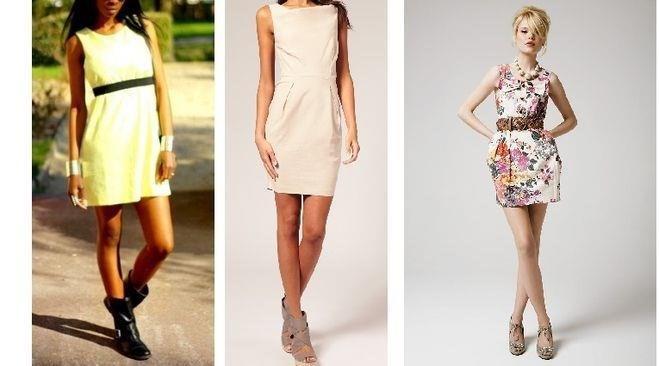 Какие платья стоит носить худым девушкам
