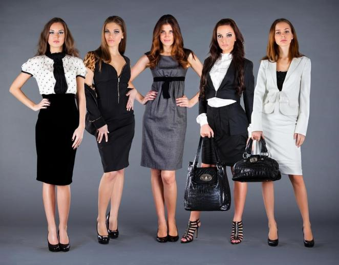 Модная одежда для офиса