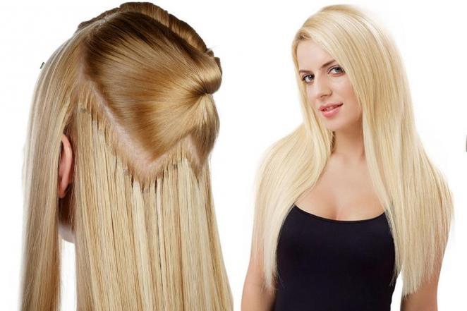 Простые советы носим накладные волосы