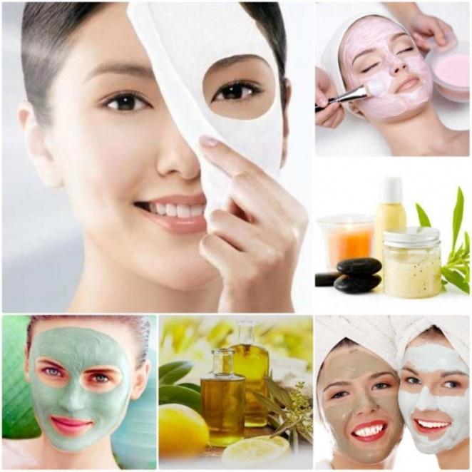 Уход за кожей лица маски