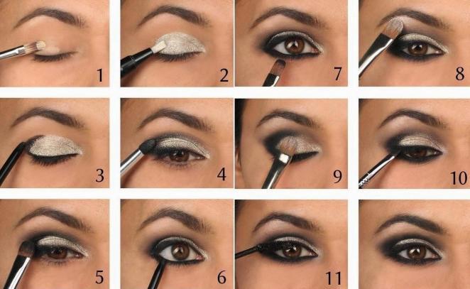 Вечерний макияж как наносить