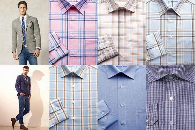 Выбираем цвет рубашки