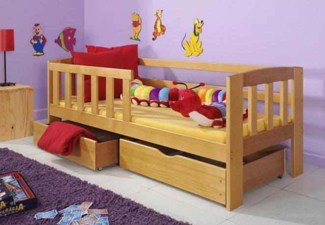 Выбираем кровать из дерева для ребенка от 5 до 10 лет