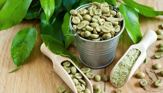 зеленого кофе